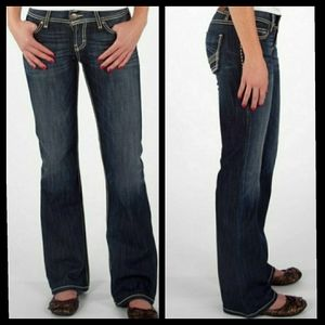 BKE Dark Wash Kate Boot Cut Jeans Size 28x29.5